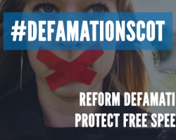 Why Scottish PEN is calling for defamation reform